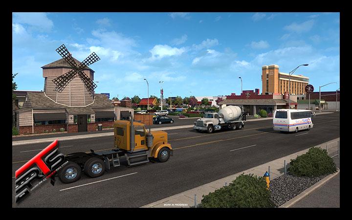 Image Principale American Truck Simulator - WIP : Washington