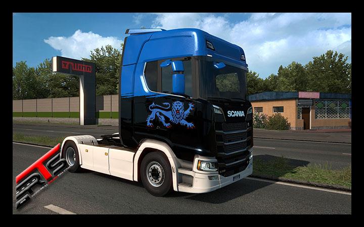 Image Principale Euro Truck Simulator 2 : Anniversaire Estonien