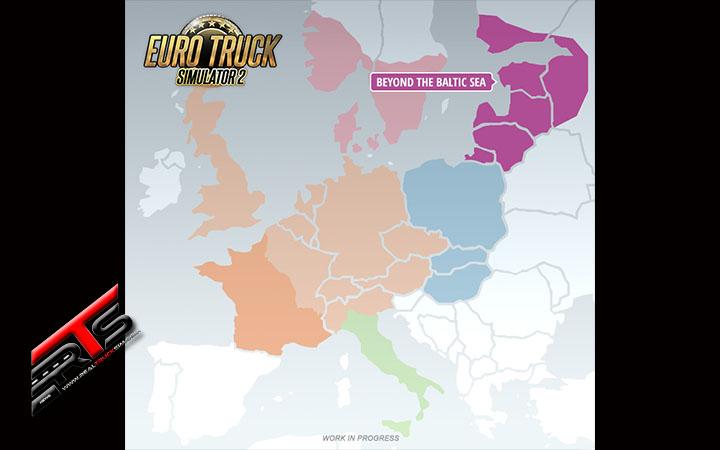 Image Principale Euro Truck Simulator 2 - WIP : Au-delà de la mer Baltique