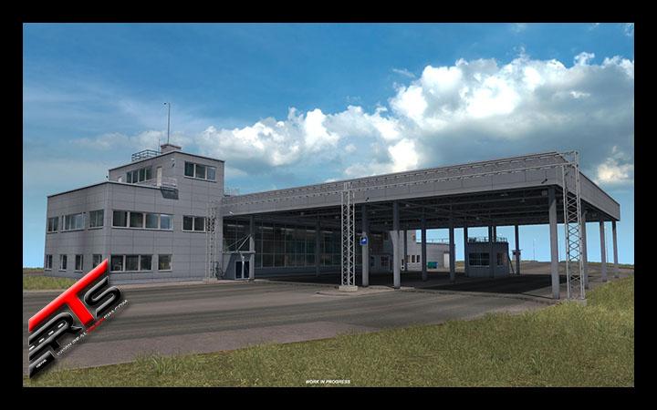 Image Principale Euro Truck Simulator 2 - WIP : Baltique - Préfabriqués des frontières