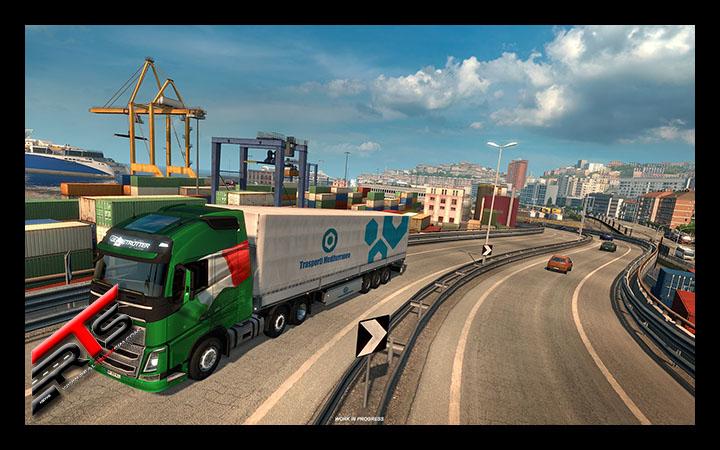 Image Principale Euro Truck Simulator 2 - WIP : Bella Italia