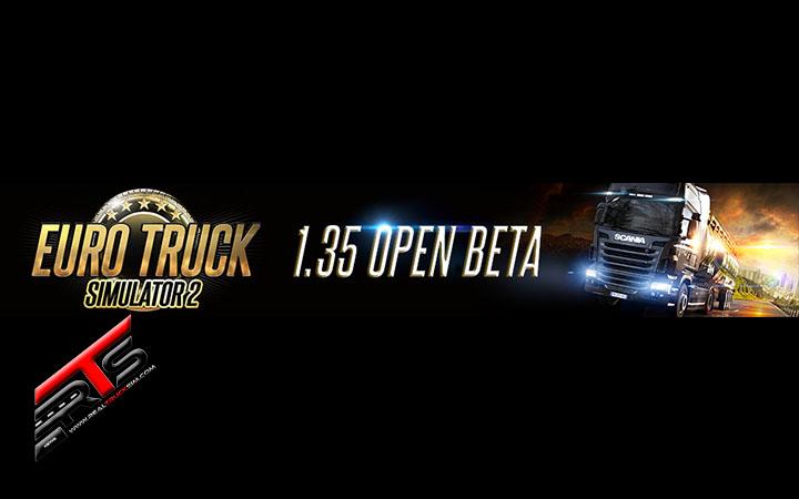 Image Principale Euro Truck Simulator 2 - WIP : Bêta ouverte de la mise à jour 1.35