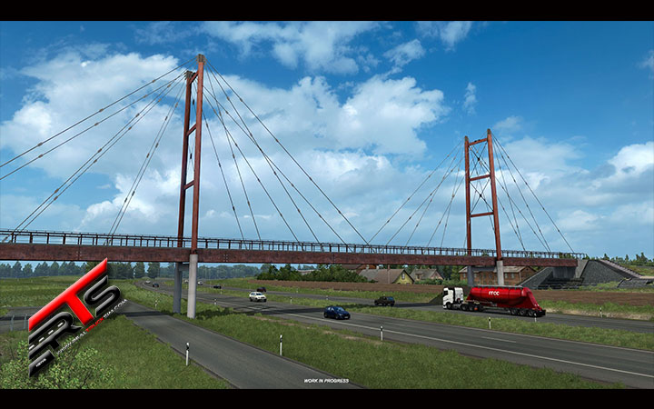 Image Principale Euro Truck Simulator 2 - WIP : Beyond the Baltic Sea - Points de repère Baltes