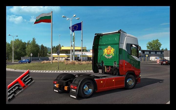 Image Principale Euro Truck Simulator 2 - WIP : Bulgarian Paint Jobs