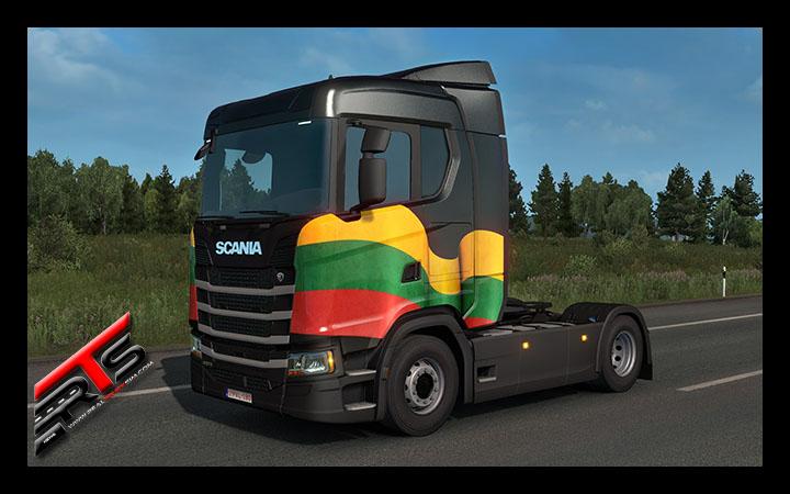 Image Principale Euro Truck Simulator 2 - WIP : Couleurs nationales Baltes