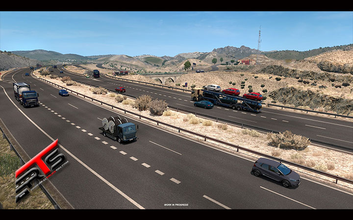 Image Principale Euro Truck Simulator 2 - WIP : Déserts de la péninsule ibérique