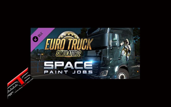 Image Principale Euro Truck Simulator 2 - DLC : Faites décoller votre camion ! - Space Paint Jobs Pack