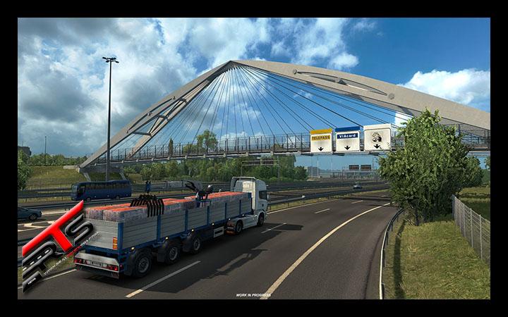 Image Principale Euro Truck Simulator 2 - WIP : Italia - Architecture