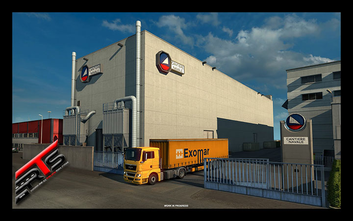 Image Principale Euro Truck Simulator 2 - WIP : Italia - Nouvelles entreprises