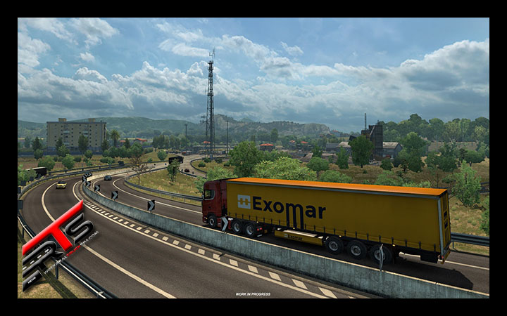Image Principale Euro Truck Simulator 2 - WIP : Italia - Périphériques