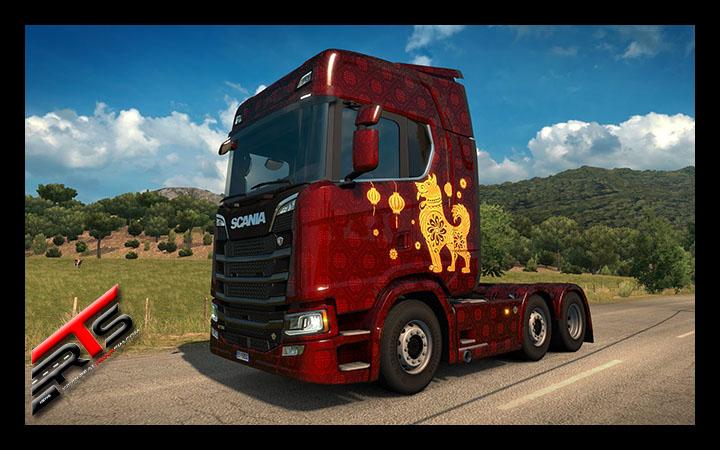 Image Principale Euro Truck Simulator 2 - DLC : L'année du chien