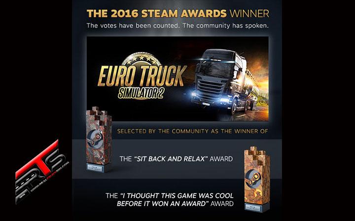 Image Principale Euro Truck Simulator 2 : Le feu d'artifice Steam a lancé les célébrations du Nouvel An !