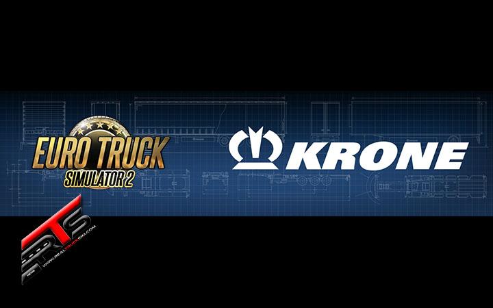 Image Principale Euro Truck Simulator 2 - WIP : Les remorques KRONE arrivent dans ETS 2