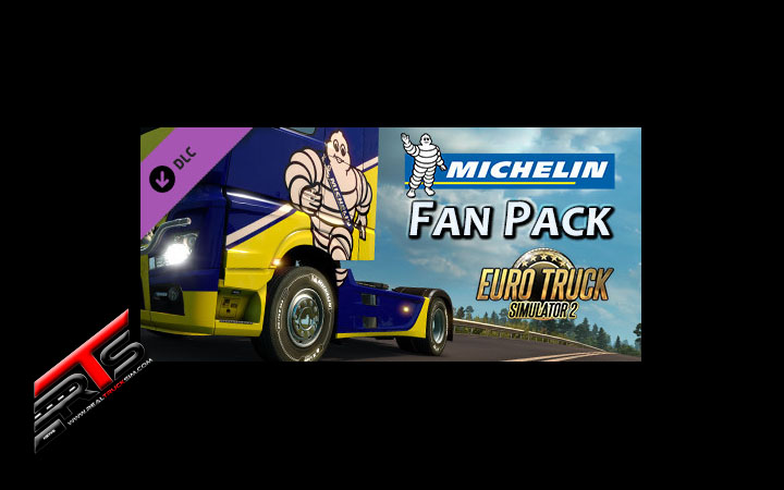 Image Principale Euro Truck Simulator 2 - DLC : Michelin Fan Pack