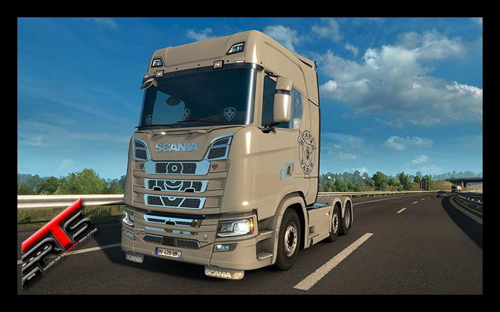 Image Principale Euro Truck Simulator 2 - WIP : Mighty Griffin - Ajouts en cours de développement