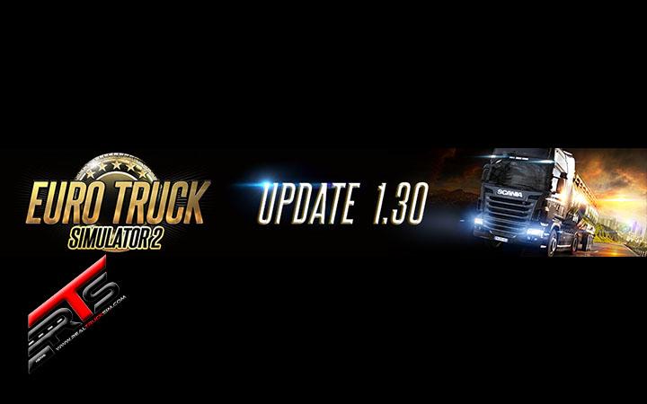 Image Principale Euro Truck Simulator 2 : Mise à jour 1.30 disponible