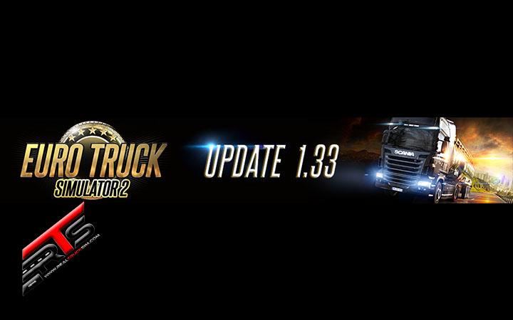 Image Principale Euro Truck Simulator 2 : Mise à jour 1.33 disponible