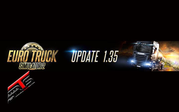Image Principale Euro Truck Simulator 2 : Mise à jour 1.35