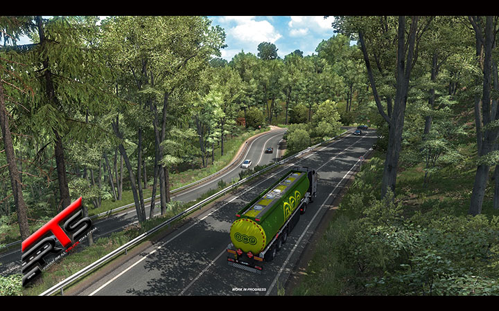 Image Principale Euro Truck Simulator 2 - WIP : Mise en bouche ETS 2