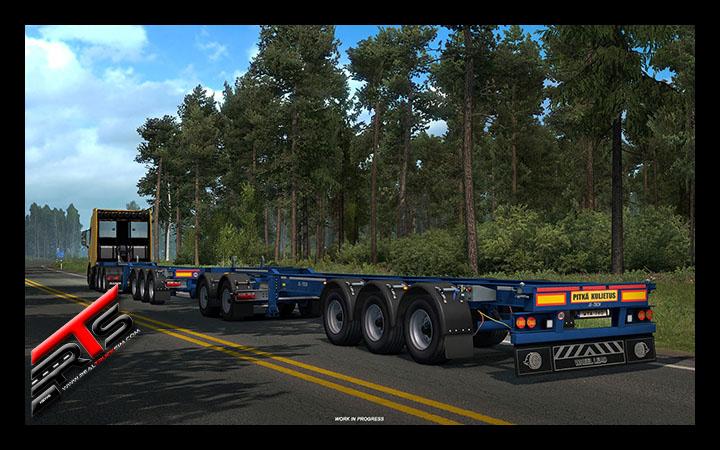 Image Principale Euro Truck Simulator 2 - WIP : Nouvelles remorques - Partie 2