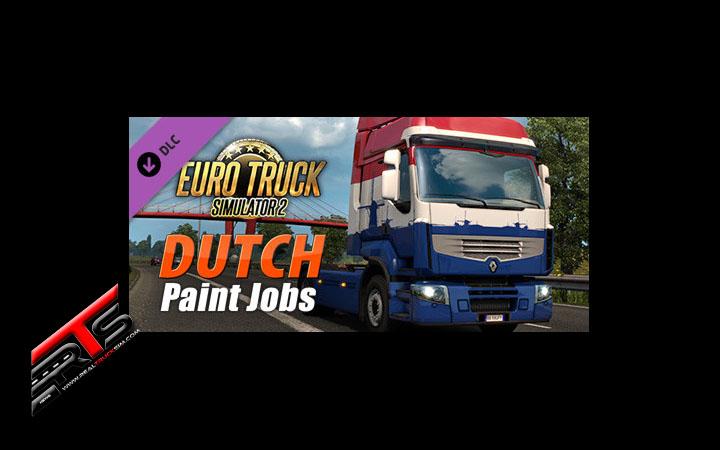 Image Principale Euro Truck Simulator 2 - DLC : Plakkaat van Verlatinghe - Dutch Paint Jobs Pack