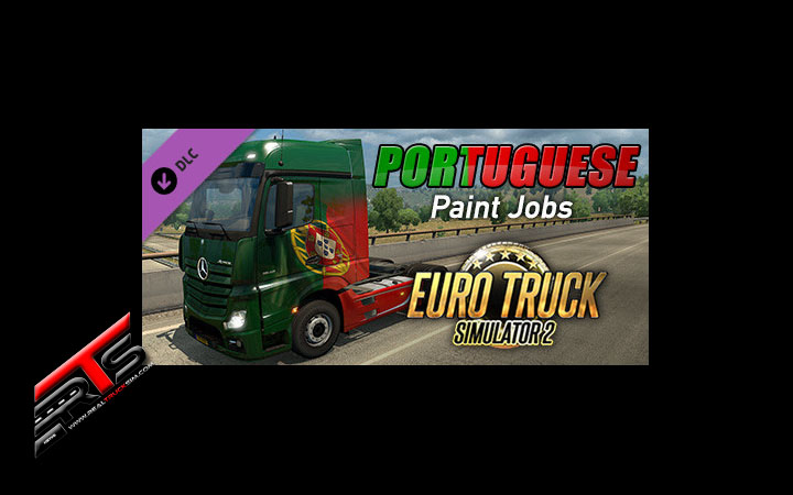 Image Principale Euro Truck Simulator 2 - DLC : Portuguese Paint Jobs Pack