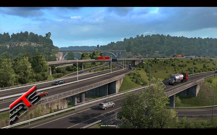 Image Principale Euro Truck Simulator 2 - DLC - WIP : Road to the Black Sea - Bulgarie
