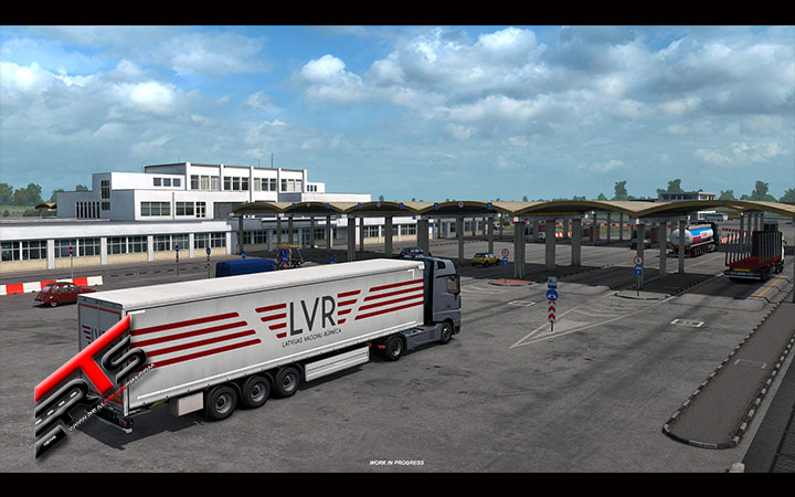 Image Principale Euro Truck Simulator 2 - WIP : Road to the Black Sea - Passages frontaliers