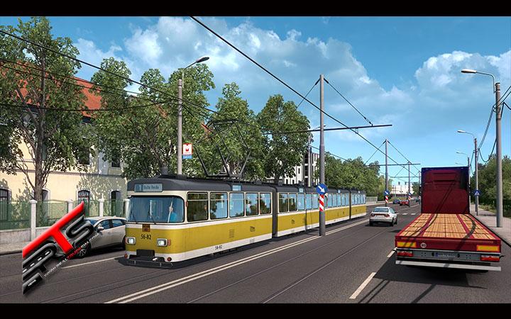 Image Principale Euro Truck Simulator 2 - WIP : Road to the Black Sea - Trains & Tramways