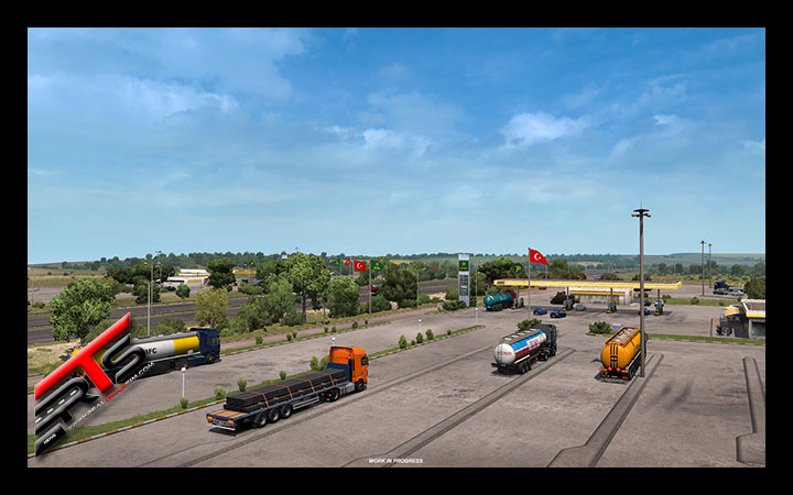 Image Principale Euro Truck Simulator 2 - DLC - WIP : Road to the Black Sea - Turquie