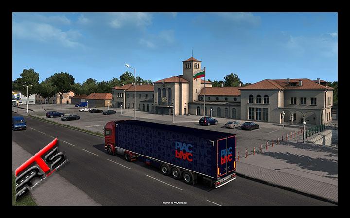 Image Principale Euro Truck Simulator 2 - WIP : Road to the Black Sea - Villes Bulgares