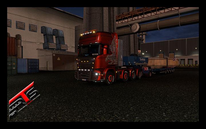 Image Principale Euro Truck Simulator 2 : Vidéo du DLC Special Transport