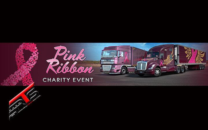 Image Principale World of Trucks - Euro Truck Simulator 2 - American Truck Simulator : Evénement Pink Ribbon Charity