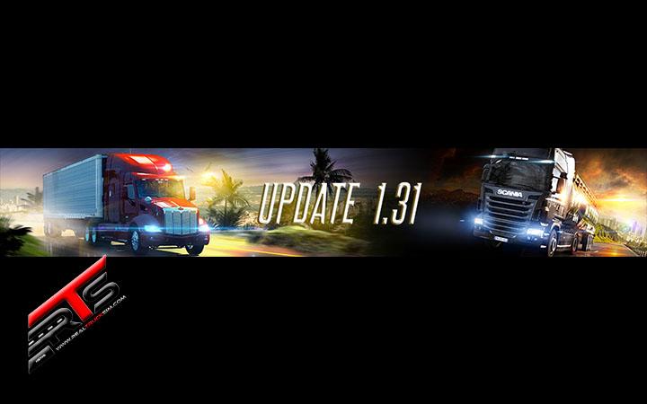 Image Principale Euro Truck Simulator 2 - American Truck Simulator : Mises à jour 1.31 disponibles