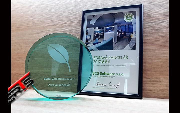 Image Principale SCS Software : Résultats du concours de la salle de réunion de l'année 2017 - Merci !