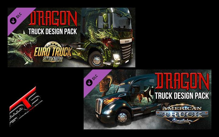 Image Principale Euro Truck Simulator 2 - American Truck Simulator - DLC : Réveillons le dragon endormi