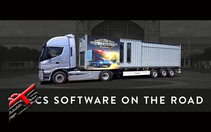 Image Principale SCS Software : SCS sur la route - A propos de la remorque de simulation SCS
