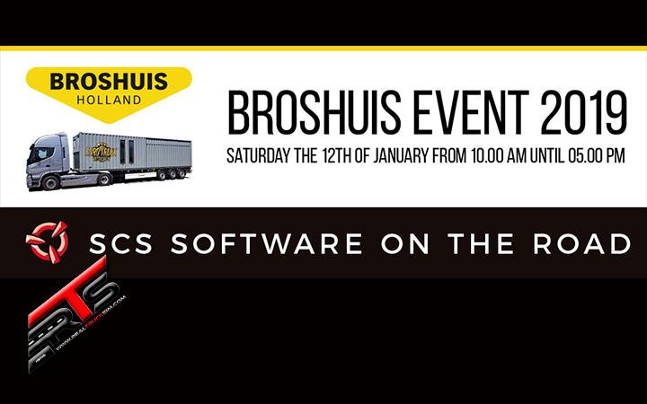 Image Principale SCS Software : SCS sur la route - Broshuis Event 2019