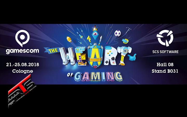 Image Principale SCS Software : SCS sur la route - Gamescom 2018