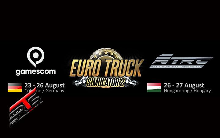 Image Principale SCS Software : SCS sur la route - Gamescom et Hungaroring !