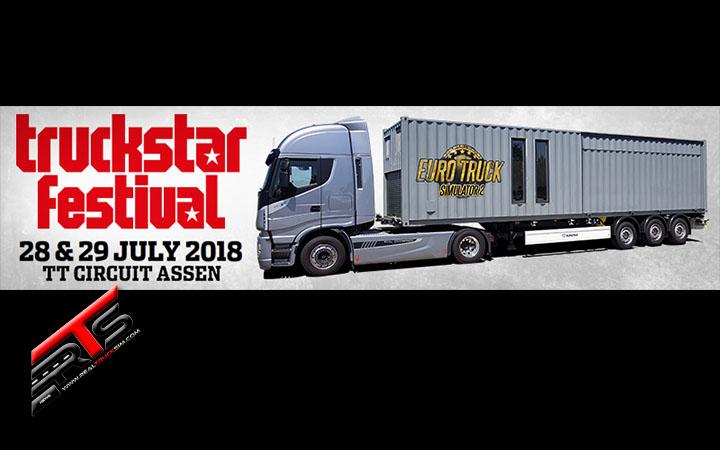 Image Principale SCS Software : SCS sur la route - Invitation au Truckstar Assen