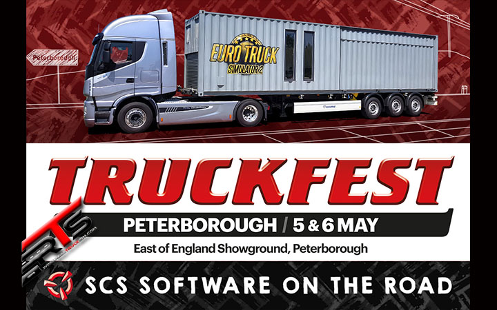 Image Principale SCS Software : SCS sur la route - Peterborough Truckfest