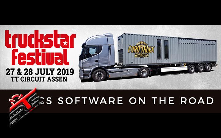 Image Principale SCS Software : SCS sur la route - Truckstar Festival Assen