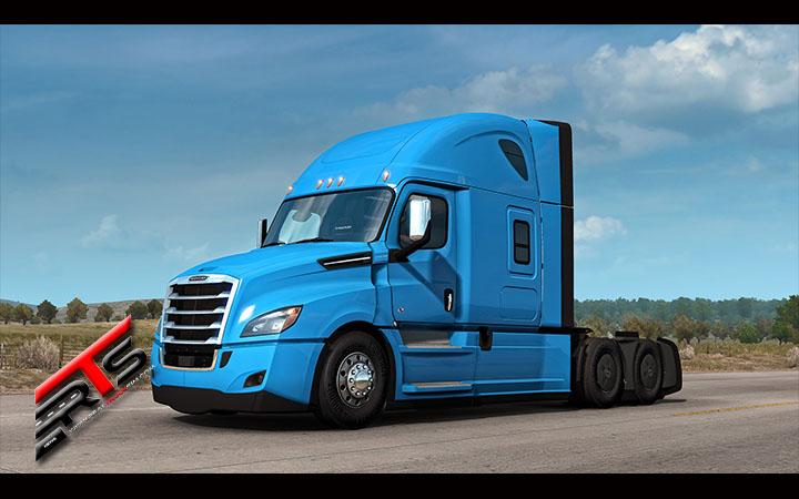 Image Principale American Truck Simulator - WIP : Annonce du Freightliner Cascadia