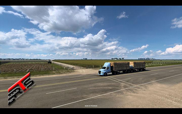 Image Principale American Truck Simulator - WIP : Texas - Nature (1) - Plaines, champs, prairies