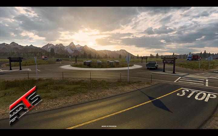 Image Principale American Truck Simulator - WIP : Wyoming - Devinez le lieu