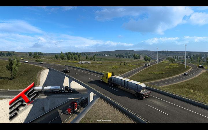 Image Principale American Truck Simulator - WIP : Wyoming - Réseau routier