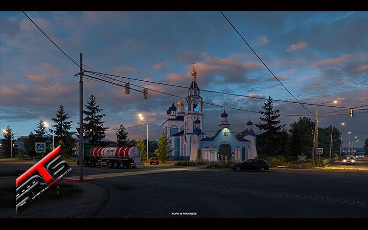 Image Principale Euro Truck Simulator 2 - WIP : Heart of Russia - Églises