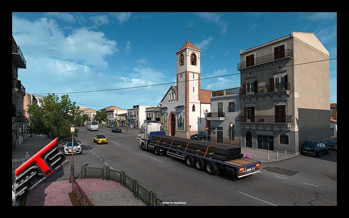 Image Principale Euro Truck Simulator 2 - WIP : Iberia - Architecture et villages