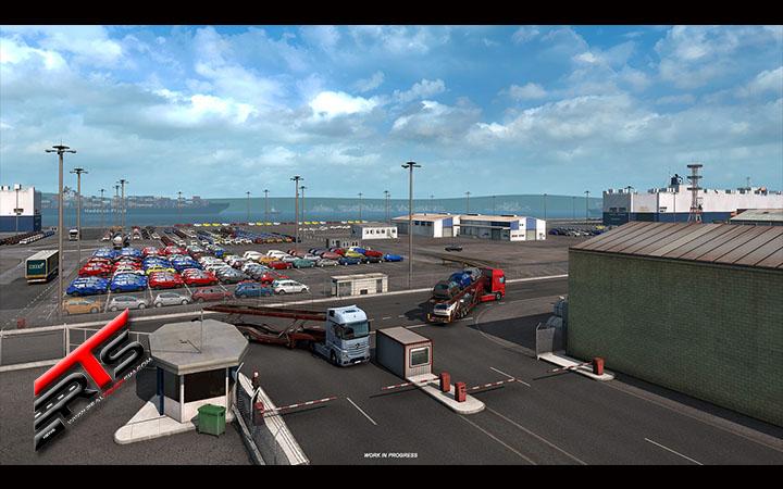 Image Principale Euro Truck Simulator 2 - WIP : Iberia - Industrie automobile